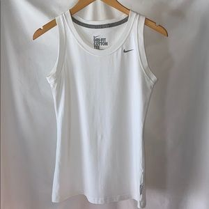 Nike cotton dri fit sleeveless tee 07180